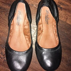Lucky Brand Black Ballet Flats Size 6
